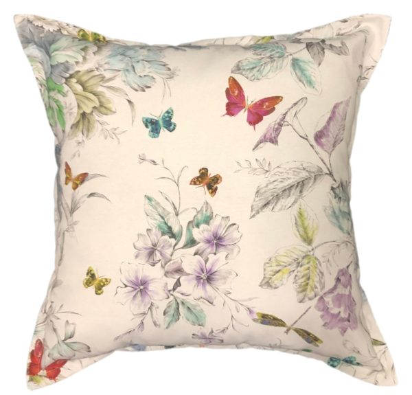 Scatter cushion - Fairy Garden | Butterfly | Flowers