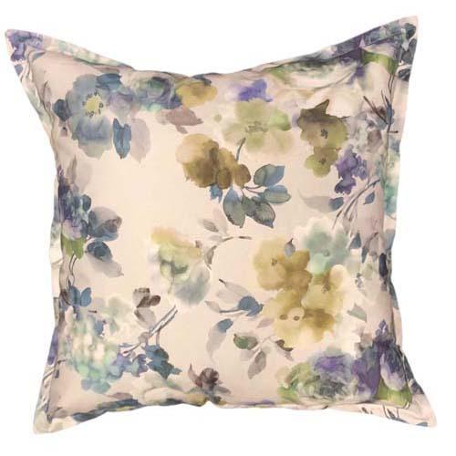 Aqua Rose Scatter cushion
