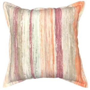 Autumn Stripe scatter cushion