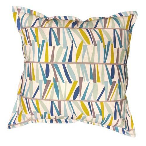 Blue stick printed scatter cushions | Made in South Africa