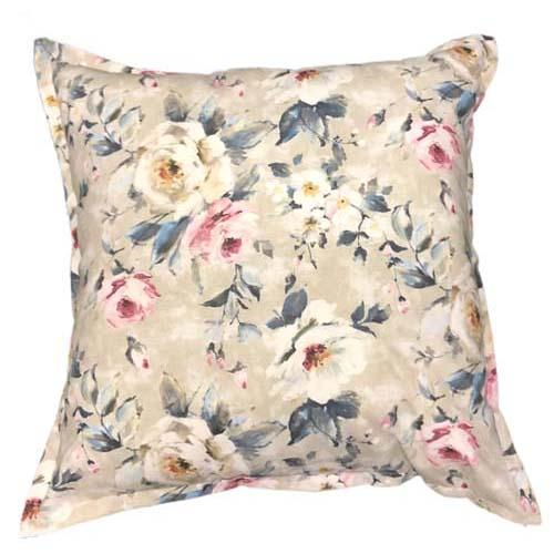 Chianti Roses on scatter cushion | Feather inner or unicurl inner