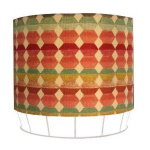Clyde table lamp with Milnthorpe Apricot Shade