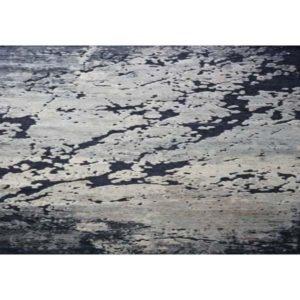 Erode Celestial - Velvet-on-chinille rug