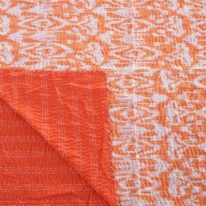 Orange Throw