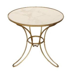 Gold Marble Table