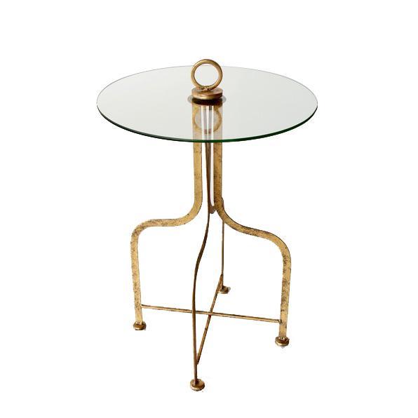 Glass & Metal Table