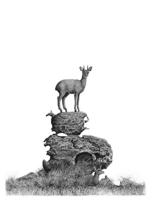 Sentinel Drawing | Artwork from South Africa | Bowen Boshier