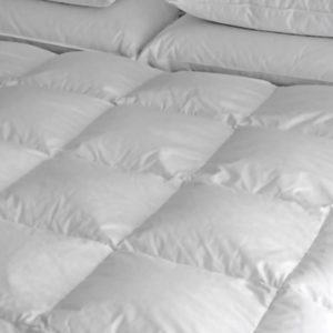 100% Siberian Down Duvet in White